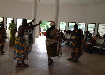 2014 Opening Ceremony - Abibigromma Dancers Welcome President Nana Ama Amissah of the Queen Mothers of Ghana
