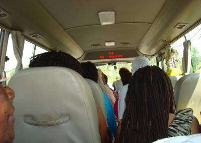 Bus Ride to Castles of Enslavement