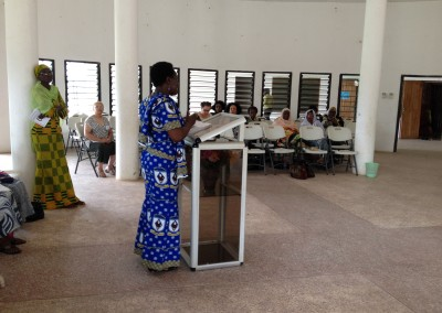 Consultation Scenes - Rose Mary Amenga-Etego Delivers Opening Address