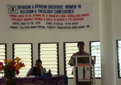 Dianne Stewart Delivers Conference Plenary Address