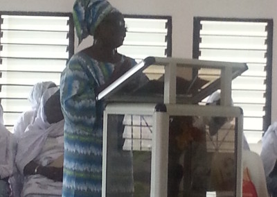 Mercy Amba Oduyoye Addresses 2014 Consultation