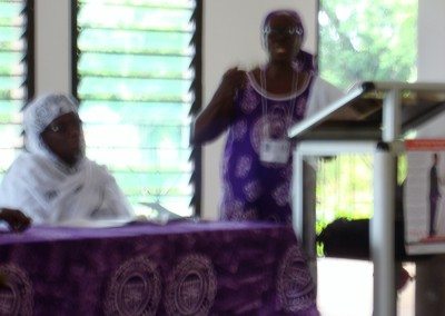 Mercy Amba Oduyoye Delivers Opening Address