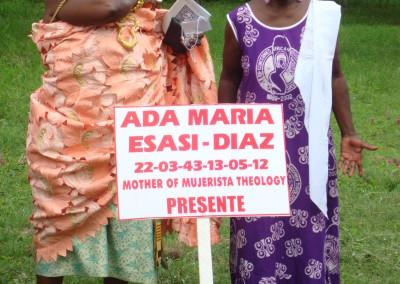 Opening Ceremony - Queen Mother Nana Amba Eyiaba (l) and Mercy Amba Oduyoye