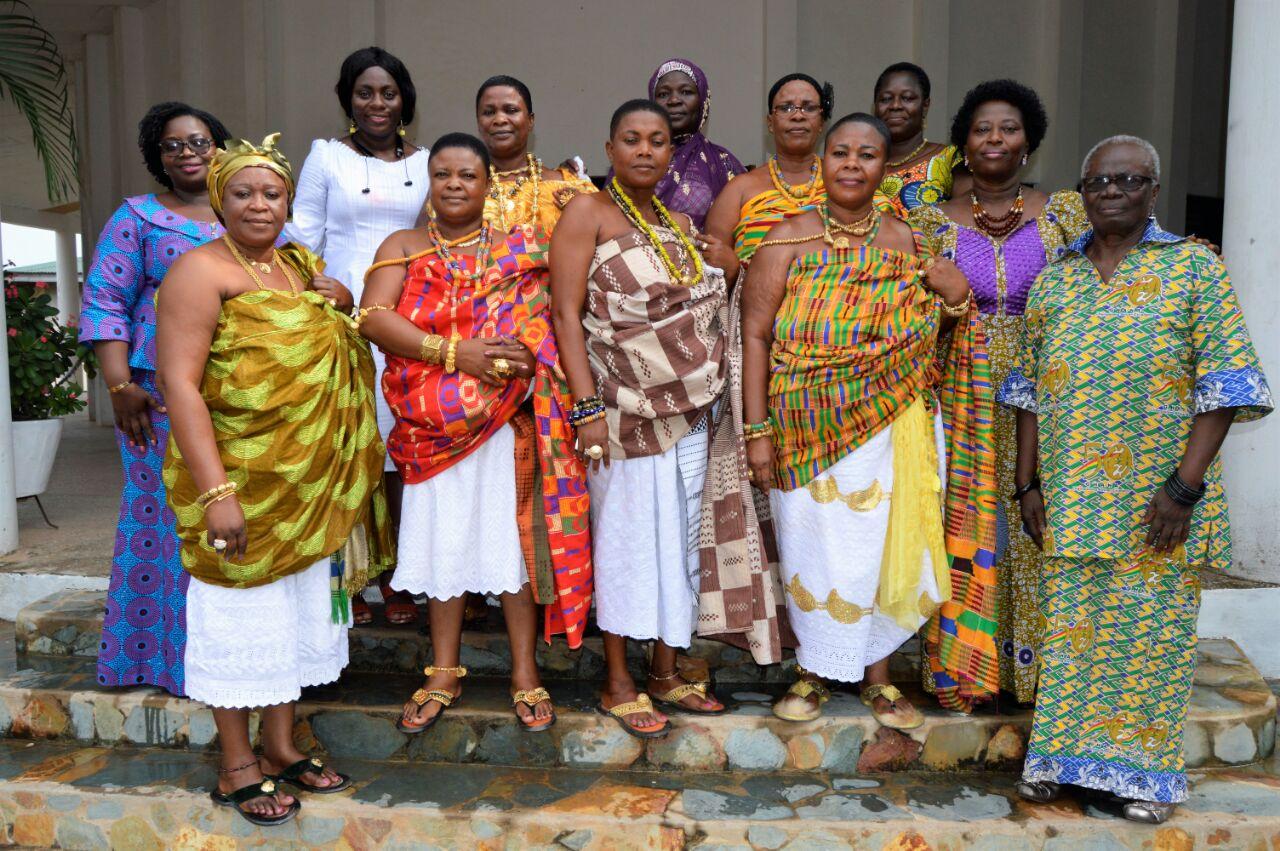 Ghana National Association of Queen Mothers (representatives)