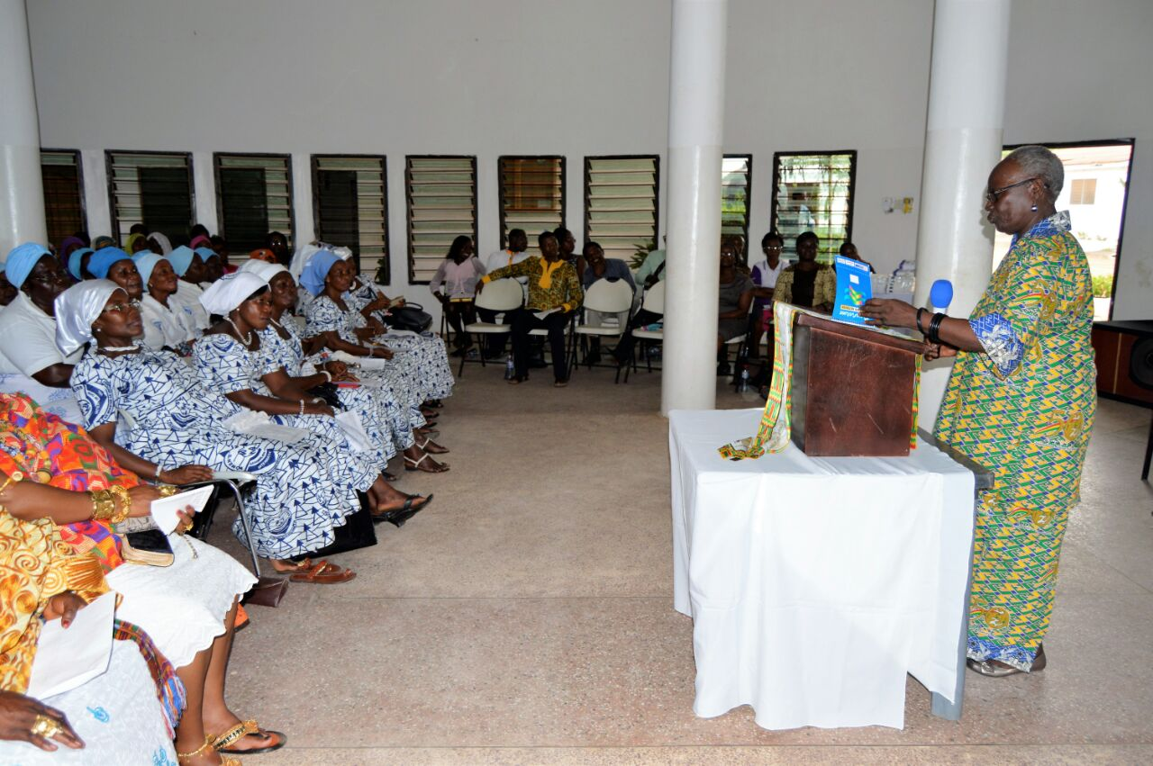 Scenes from Electoral Procedures Conference, Oduyoye addresses assembly